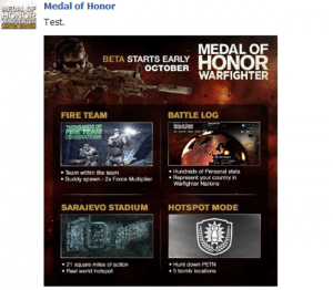 Bild verrät Details zur Medal of Honor: Warfighter Beta im Oktober